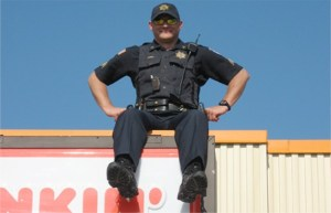 Special Olympics Get's Some 'Rooftop' Support From Local Law Enforcement & Dunkin'