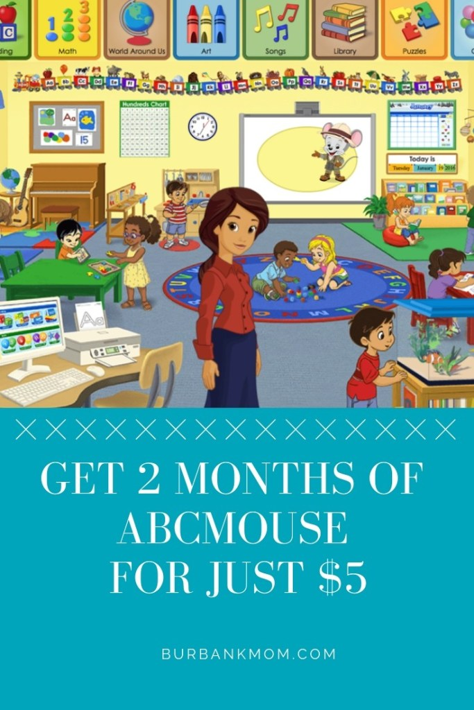 ABCmouse com is Offering 2 Months For 5 Dollars! | Burbank Mom