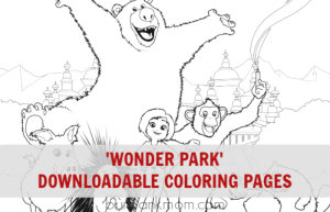 Wonder Park Coloring Pages