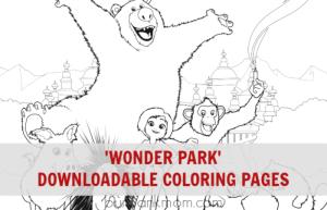 Wonder Park Coloring Pages