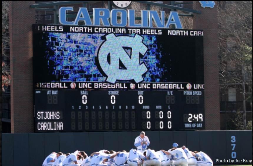 University Of North Carolina Chapel Hill Baseball