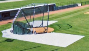 Batting practice Zone Cage Collar