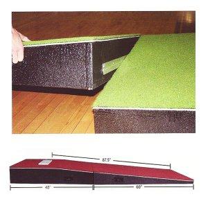 Two Piece Portable Mound