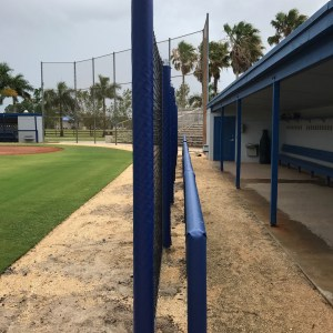 Dugout Protective Netting