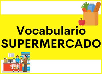 Vocabulario léxico supermercado español