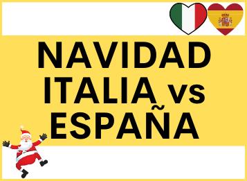 Navidad Italia y España