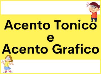 Acento tonico e acento grafico in spagnolo