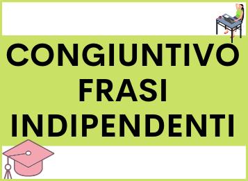 Congiuntivo frasi indipendenti in spagnolo