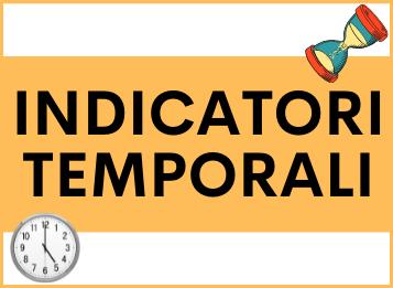 Indicatori temporali in spagnolo
