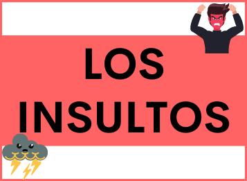 Los insultos en Español