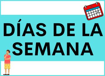 Los Días de la Semana en español
