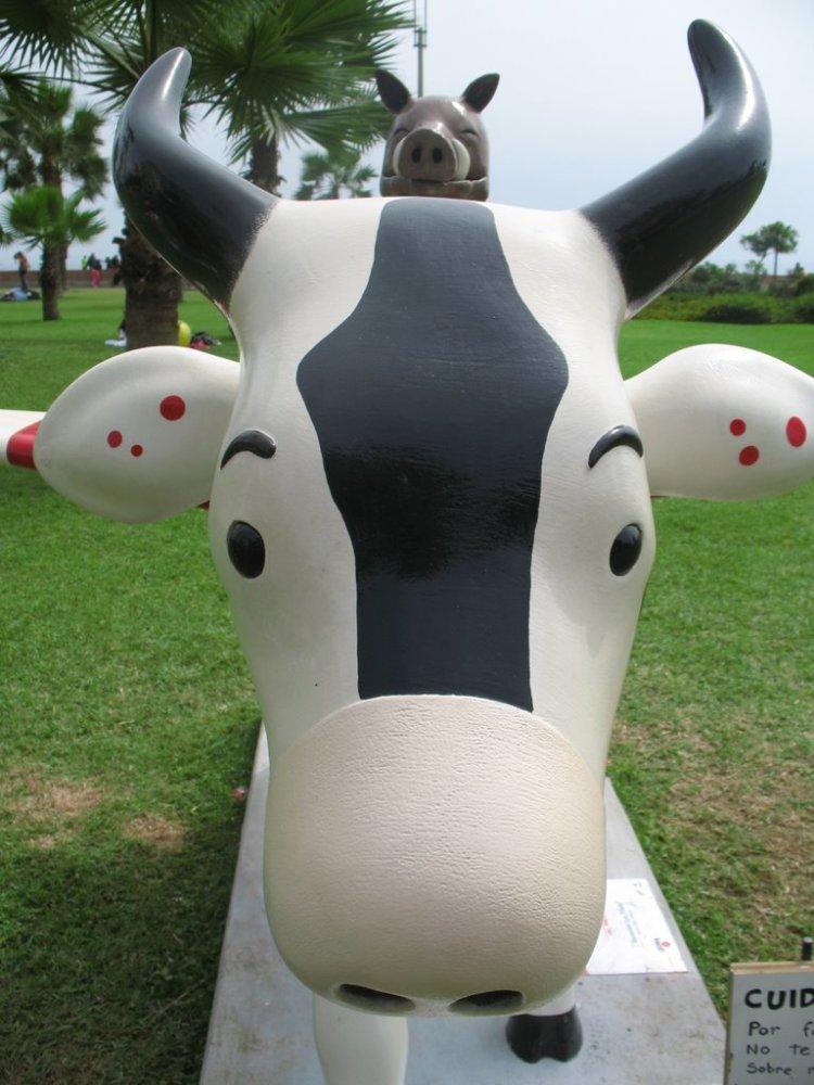 Alguito del Cow Parade :) (1/5)