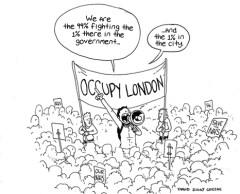 Occupy-London-cartoon-David-Ziggy-Greene