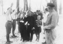 Hilter as the best man in Joseph Goebbels wedding