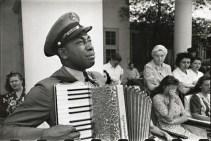 President FDR's funeral in 1945