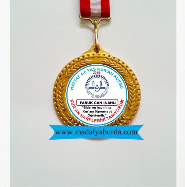 madalya-kur'an kursu ödülü