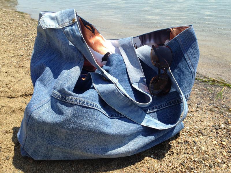 Что сделать изстарых джинсов: 19 отличных идей