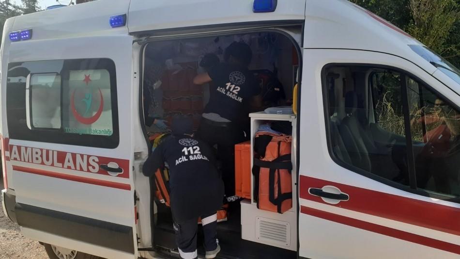 Burdur'da panjur takarken 3'üncü kattan düşen işçi hayatını kaybetti