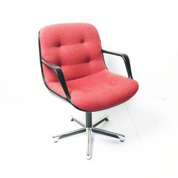 Pollock Chair Walter Knoll rood
