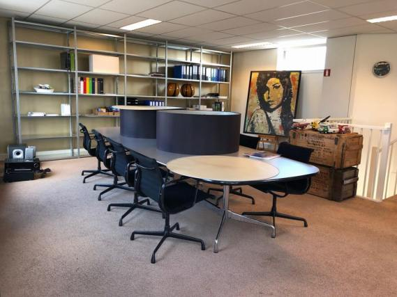 Vitra Eames Segmented Table ET 161 Grey