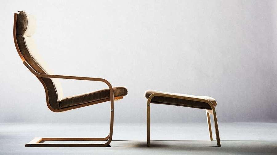 Ikea Poang vintage bureaubaantjer