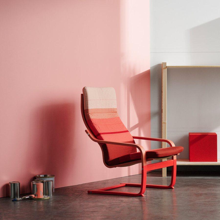 Ikea Poang armchair vintage van de toekomst