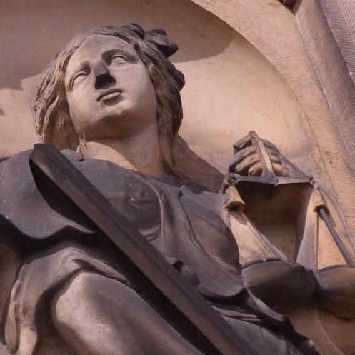 Detail de 'Gerechtigheid'