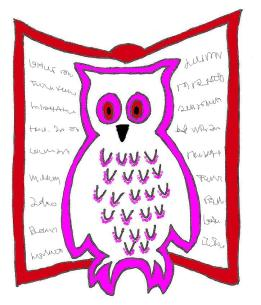 logo roze rood
