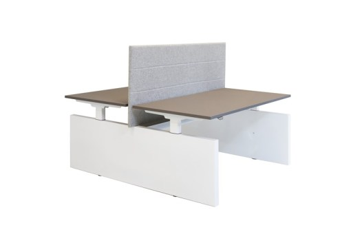Duo zit-sta bureau Panel