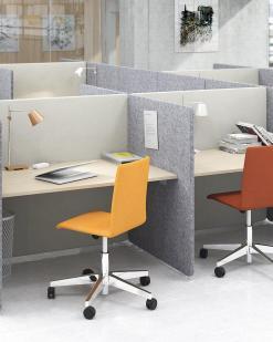 MY Space bureau en scherm met stoel   Bureaustoelen MKB