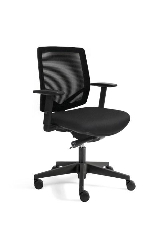 Bureaustoel Ergo 300 met Net design mesh rug