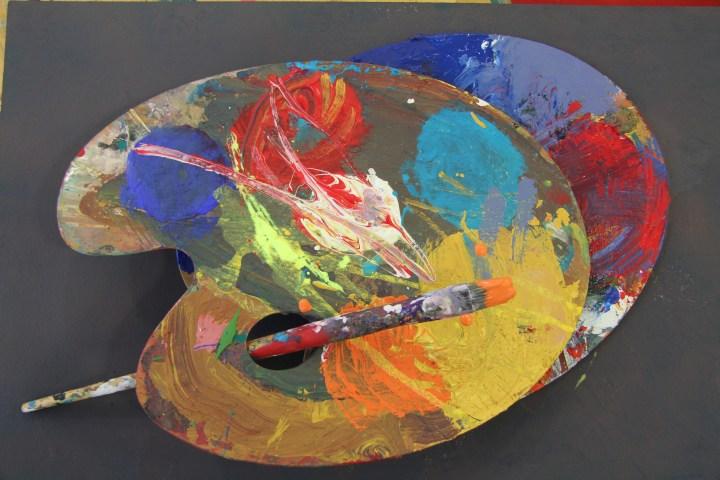 Palette der Kunst