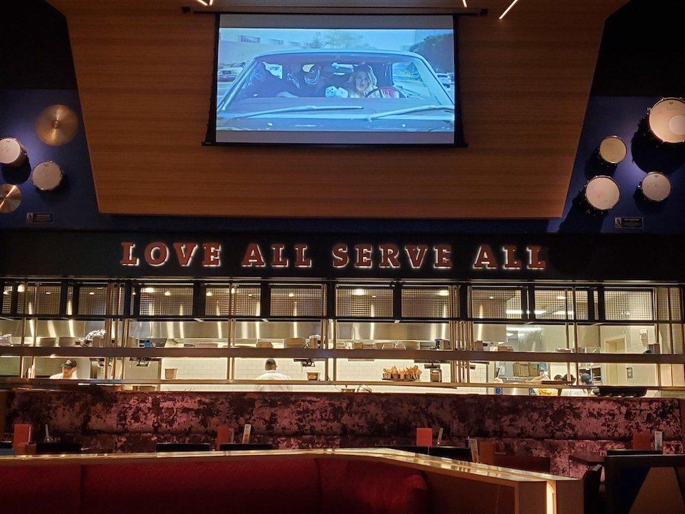 Hard Rock Cafe Love All Serve All Bar