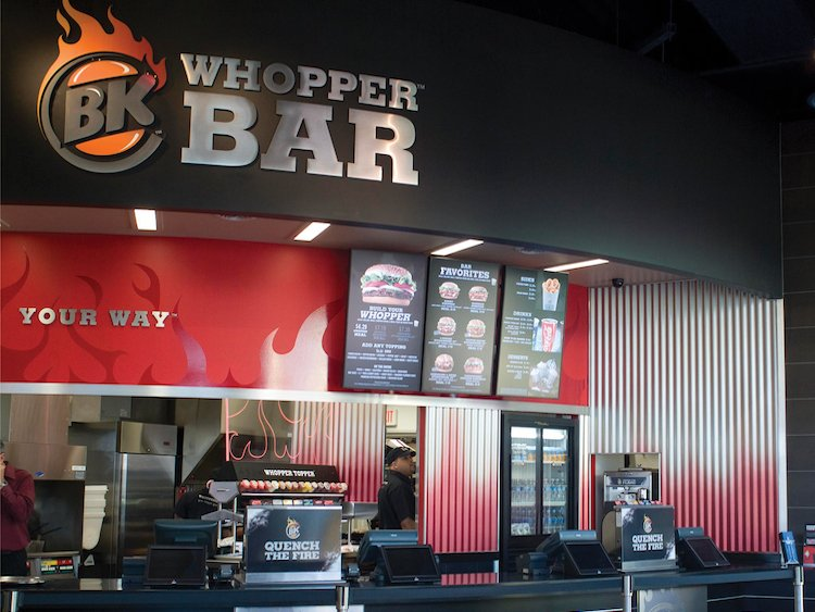 BK Whopper Bar in Orlando, Florida