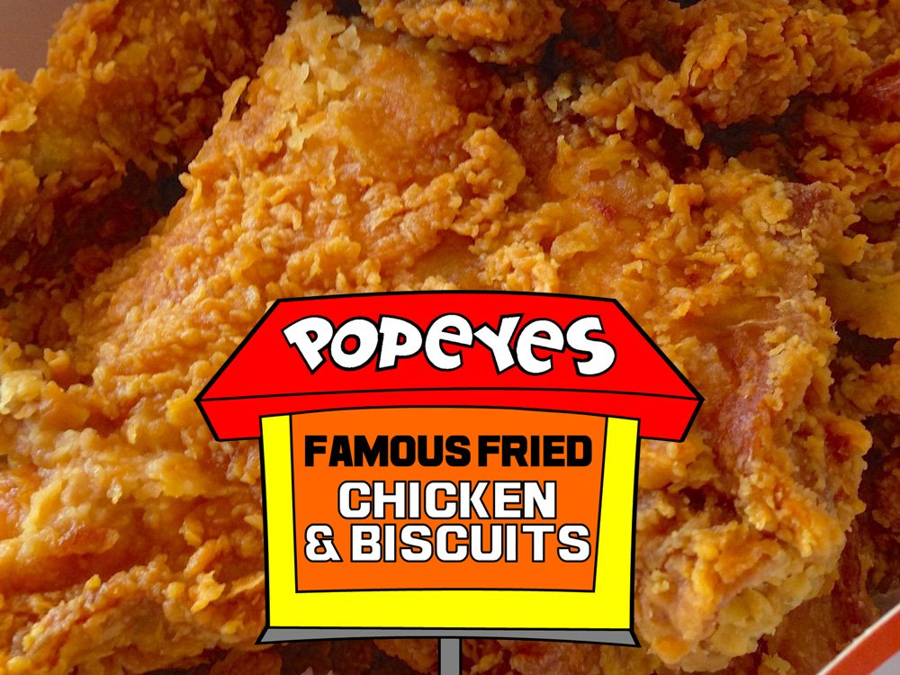 Popeyes Spicy Chicken