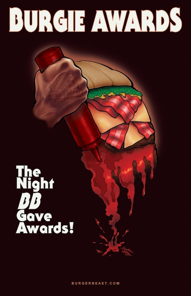 Burgie Awards Poster 2013 by Andrew Shirey