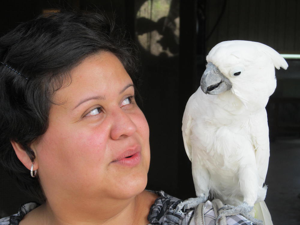 Marcela meets Bird