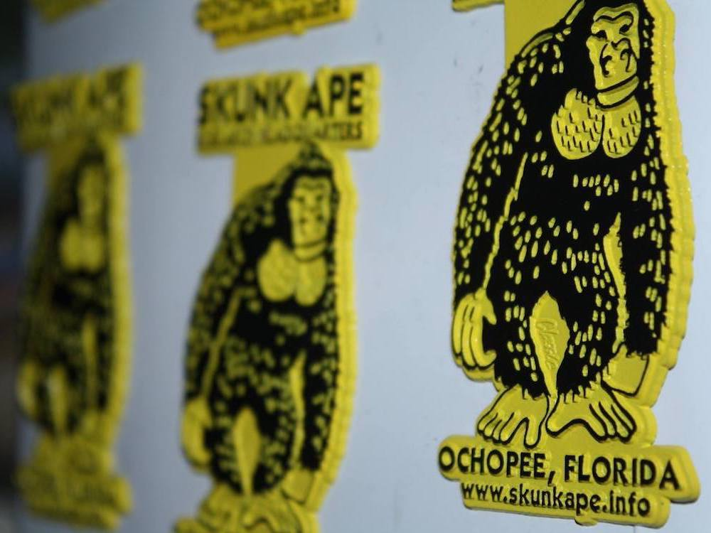 Skunk Ape Headquarters Magnets