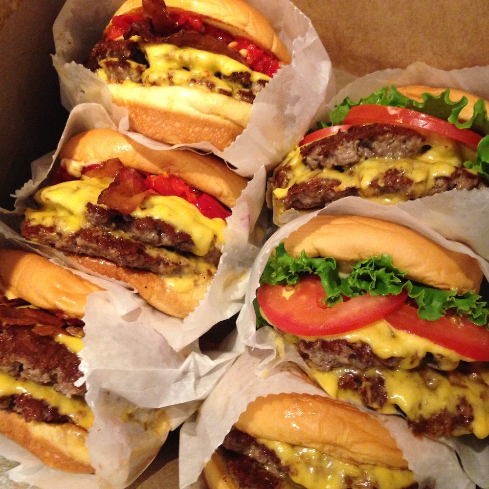 Shake Shack Burgers Galore