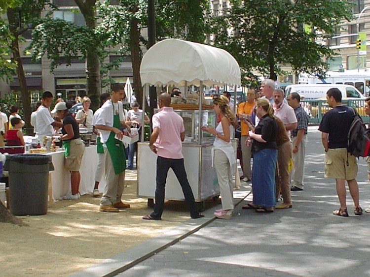 Shake Shack Original Hot Dog Cart