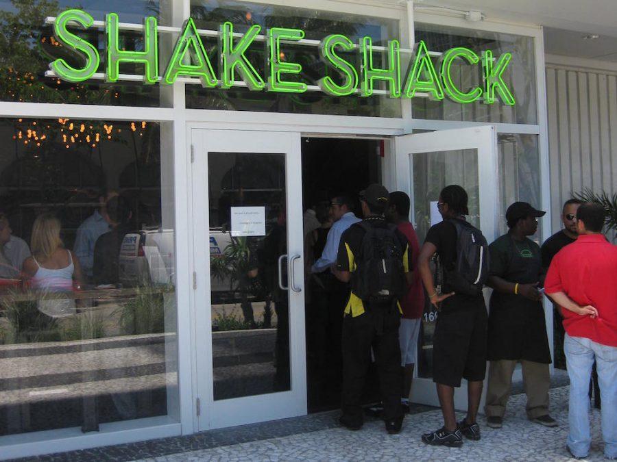 Shake Shack Opening Day Line