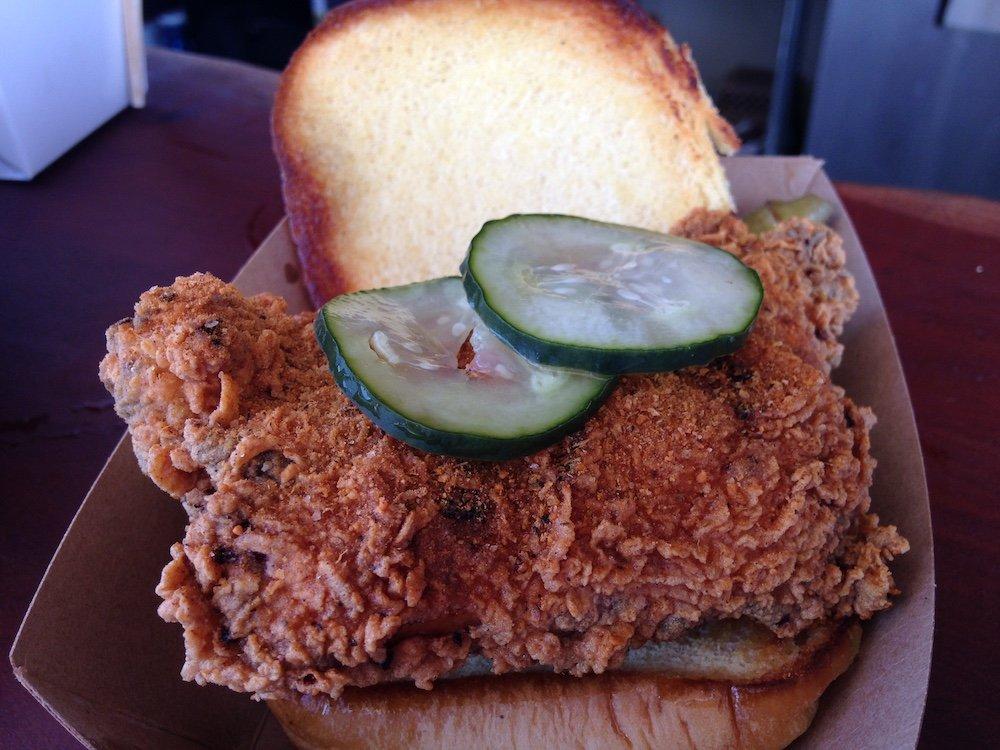 Crispy Chicken Sammich
