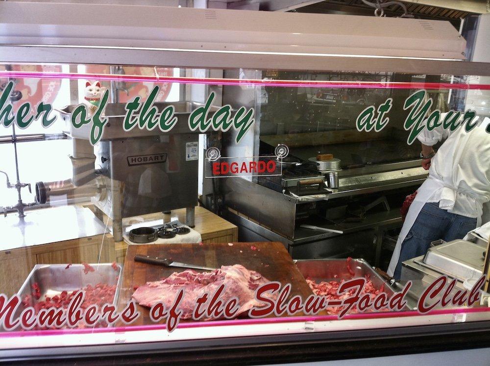 Joe's Cable Car Butcher Area