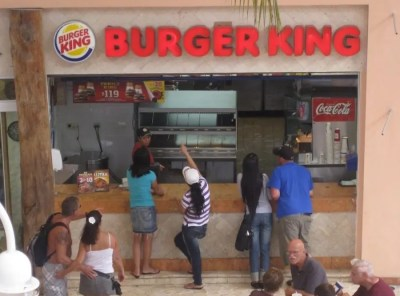 I Ate from the Burger King in Cozumel