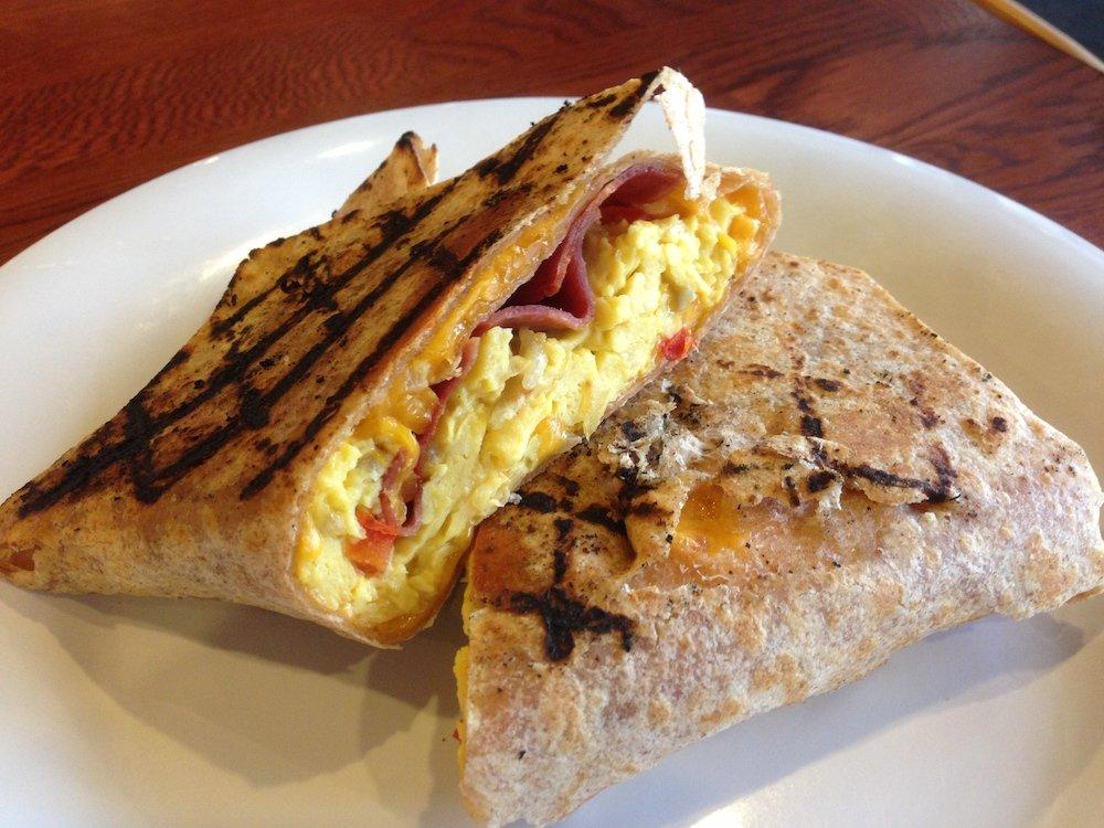 BC Cafe Breakfast Burrito