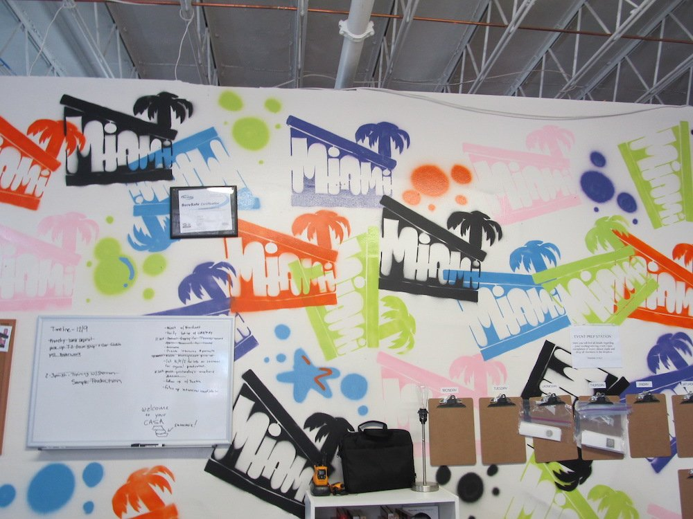COOLHAUS Commissary Miami Wall