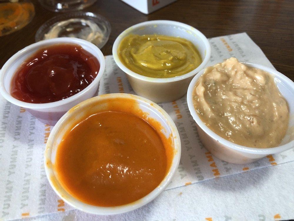 Umami Burger Sauces