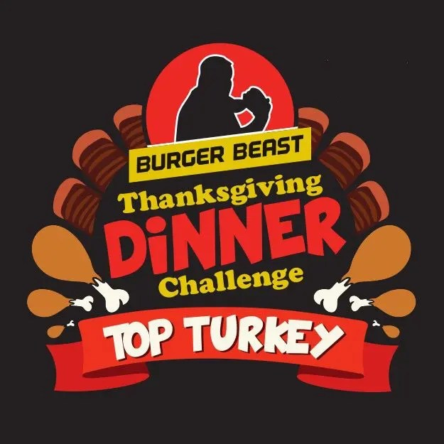 Burger Beast Top Turkey Event Logo