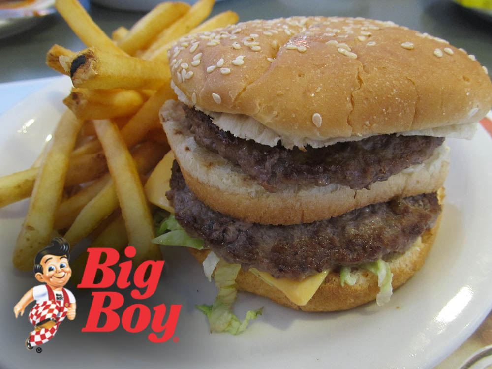 Big Boy Double Deck Hamburger