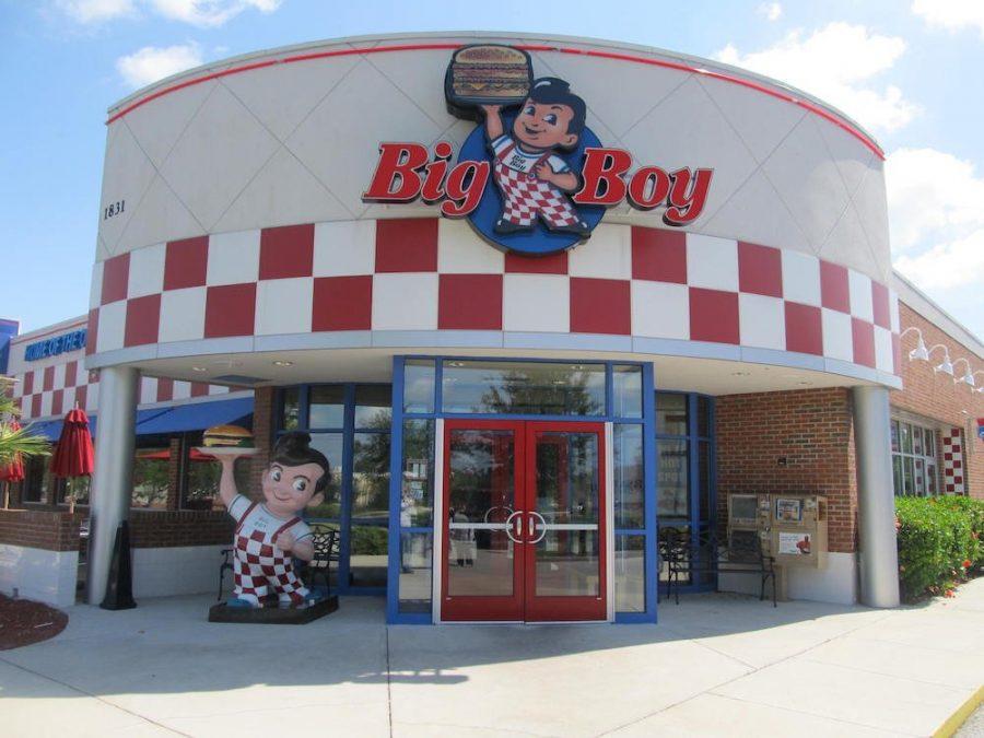 The closed Big Boy restaurant in Sanford, Florida